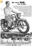 1952 Harley 125s