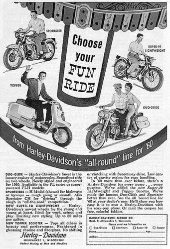 1960 Harley Topper