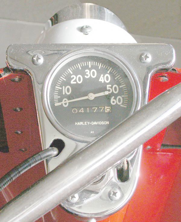 1961 Speedometer