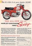 1962 Harley Sprint
