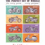 1963 Perfect Set of Wheels