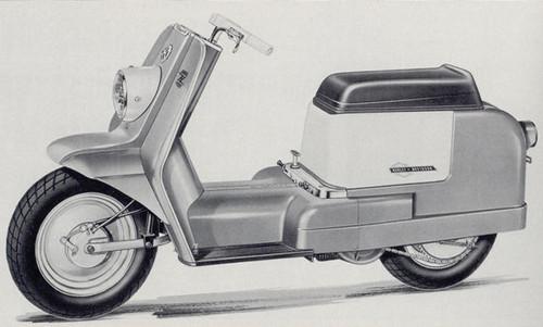 1963 Harley Topper AH