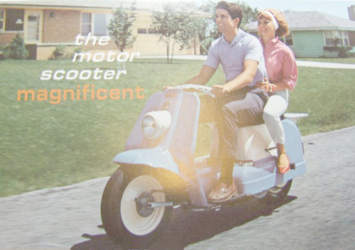 The Motor Scooter Magnificent