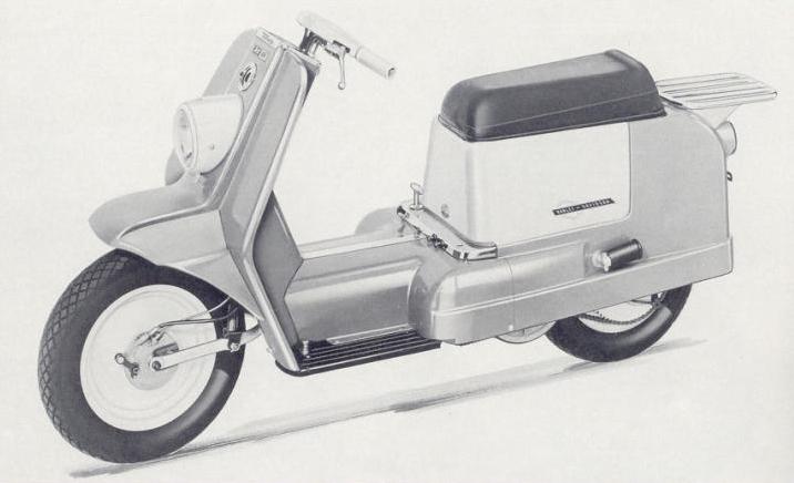 1965 Harley Topper AH