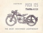 1950 125 Single cylinder 2 pistons