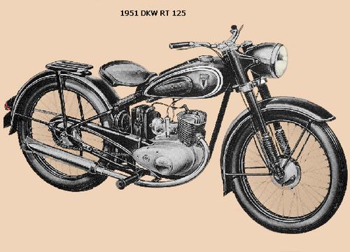 1951 DKW RT 125