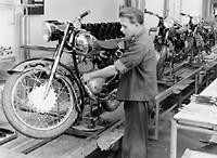 Durkopp assembly line