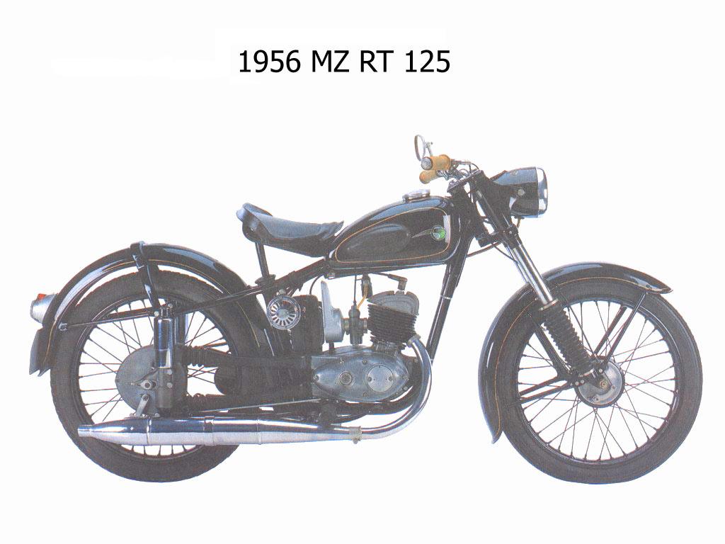 1956 MZ RT125