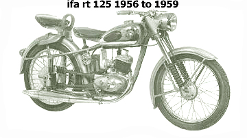 ifa rt 125 1956 to 1959