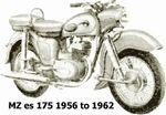 mz es 175 1956 to 1962