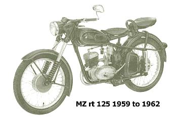 mz rt 125 1959 to 1962
