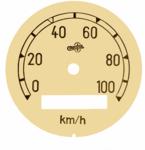 tachometer face tacho