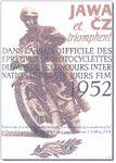 1952 Jawa CZ Poster