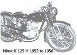 minsk 1952 to 1956
