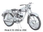 minsk 1956 to 1958