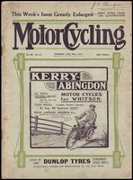 Highlight for Album: Vintage MotorCycling Magazine