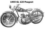 1955 GL 125 Peugeot