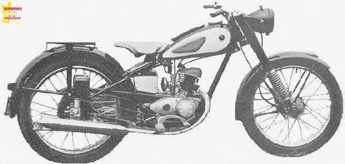1954 Yamaha YA-1