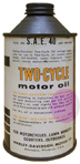 Harley Topper Motor oil 91844-59 used in oil gas mixture.