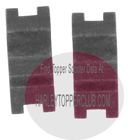 Harley topper magneto cable grommets no. 29539-55