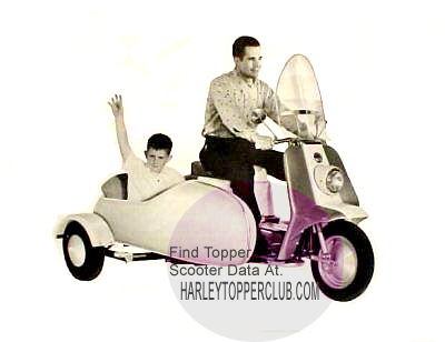 Harley Topper sidecar photo