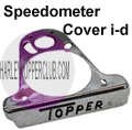 Harley Topper Speedometer Cover identification